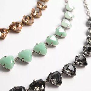 Stella & Dot Rosy Crystal Necklace
